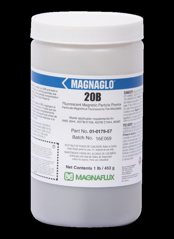 Magnaflux 20B Fluorescent Preblended Dry Mix
