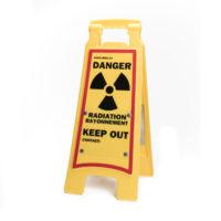 Exposure Radiation Sandwich Board