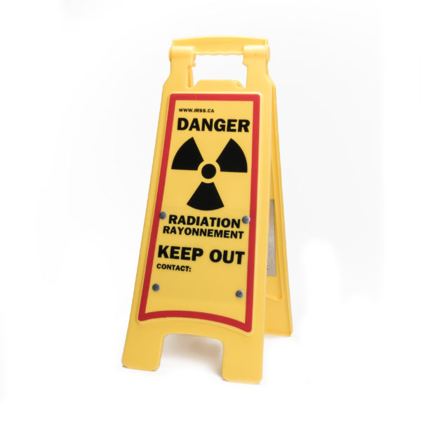 Exposure Radiation Sandwich Board