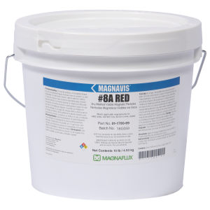 Magnaflux 8A Red Dry Powder 10lbs