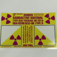 880 Delta Main Label Sticker