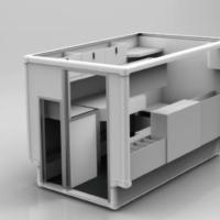 Armorlite RT2 Sit Down Radiography Lab