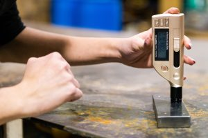 Test the hardness of various metal materials fast and conveniently.