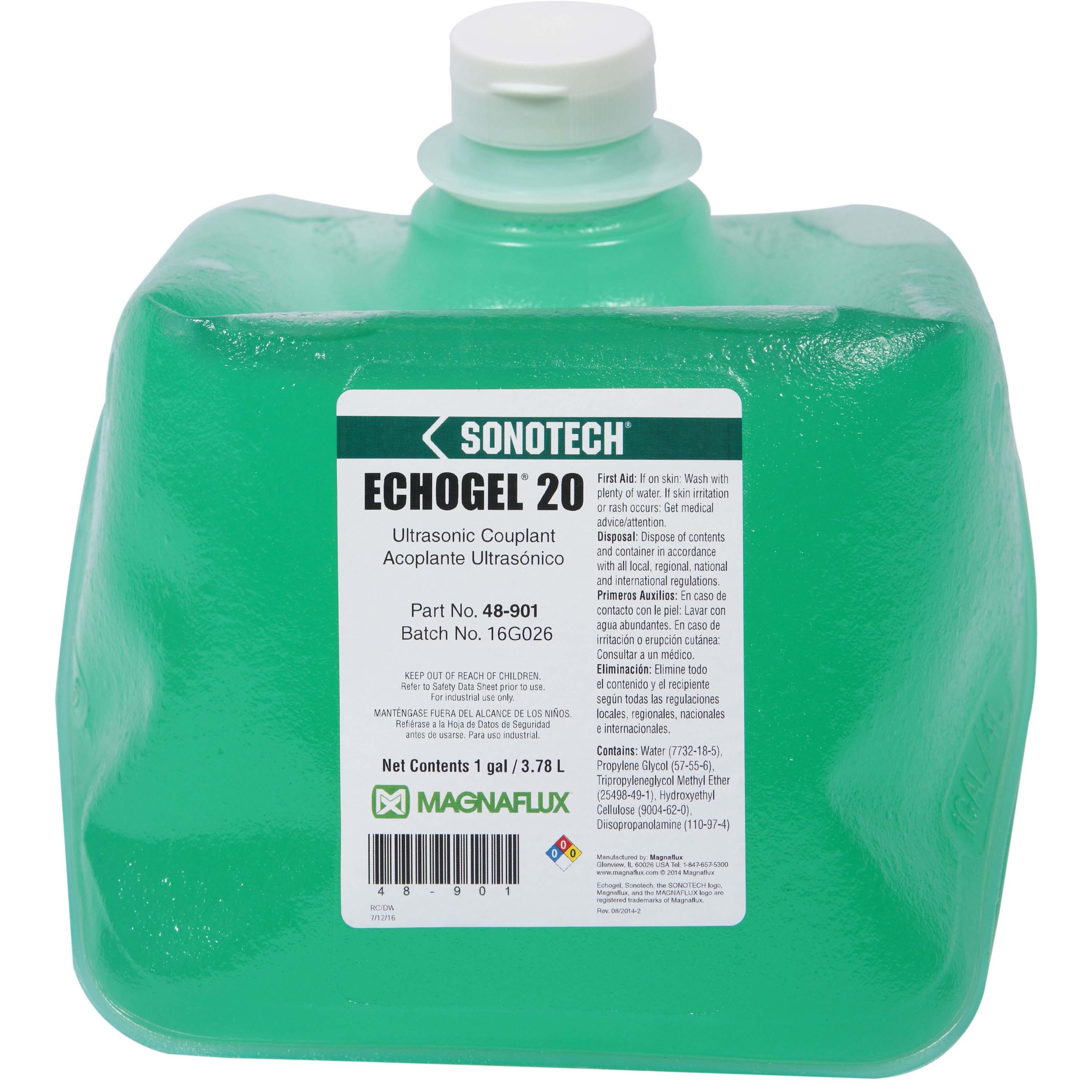 Magnaflux Echogel 20 Ultrasonic Couplant